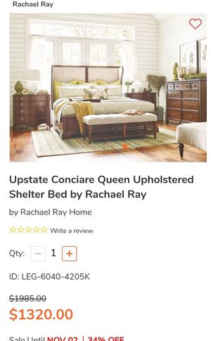 Bramd New Rachel Ray Upstate Shelter Collection Bedroom Set for Sale in Murfreesboro, TN