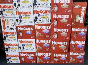Huggies diapers box 📦 for Sale in Lehigh Acres, FL