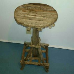 Wood Bar Stool Plant Stand for Sale in Austin, TX
