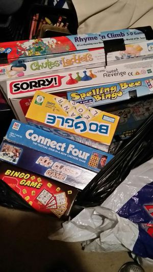Lots of board games! $5 each for Sale in Arlington, VA