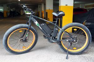 "26"" 500W Orange Fat Tire Electric Bicycle Mountain Snow Beach E Bike 7 Speed for Sale in Miami Beach, FL"