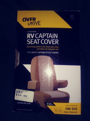 Seat covers, large, New, captains seat for Sale in Lakeland, FL