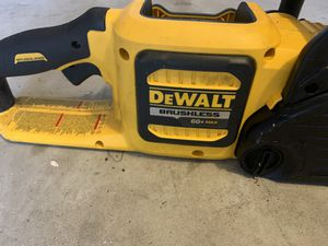 dewalt 60 v 16 inch chainsaw tool only for Sale in League City, TX