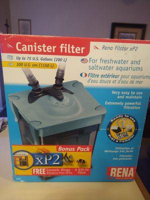 Filstar XP-2 RENA Canister filter for Sale in Oklahoma City, OK