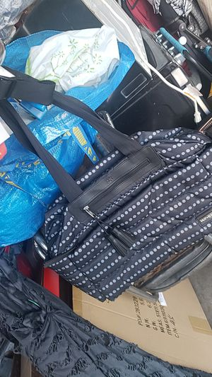 Skip Hop Black gray baby diaper bag taking offers brand new for Sale in Riverside, CA