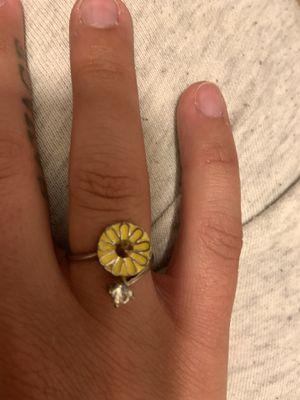 Adjustable Sunflower Ring for Sale in Morgantown, WV
