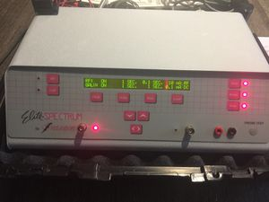 Instantrom Spectrum Elite w/ Epilator Electrolysis w/ carrying case for Sale in Fairfax, VA