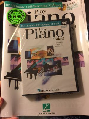 New Play Piano Today DVD case for Sale in Milton, FL