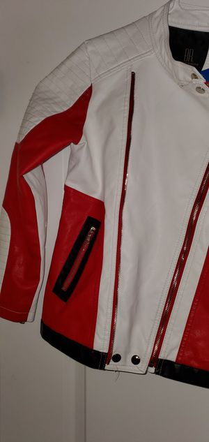 Boys leather motorcycle jacket for Sale in Denham Springs, LA