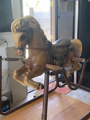 Vintage Wonder Horse spring rocking horse- great condition for Sale in Scottsdale, AZ