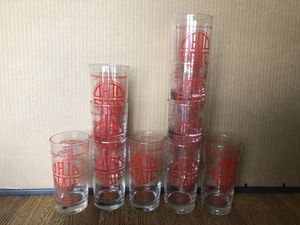 Collectable OSU MENS and Women's Basketball Appreciation Banquet glasses Price is per glass. for Sale in London, OH