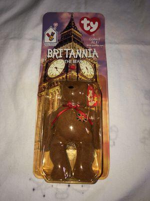 Britannia the Bear TY Beanie Baby for Sale in Woodbridge, VA