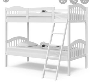 White bunk or 2 twin beds. Delivery possible for Sale in Dearborn, MI