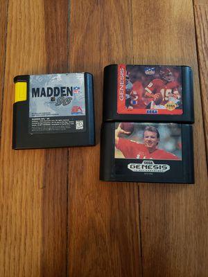 Sega genesis football games for Sale in Arlington, VA