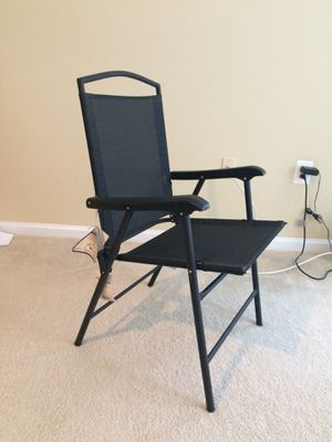 Chair with arm rest dining office balcony for Sale in Fairfax, VA