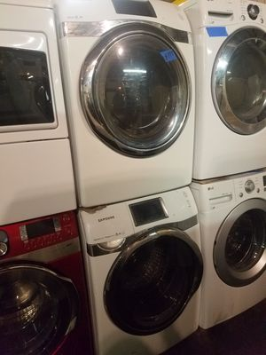 Samsung front load washer and dryer excellent condition for Sale in Baltimore, MD