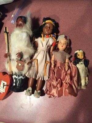4 antique dolls for Sale in Lawrence, MA
