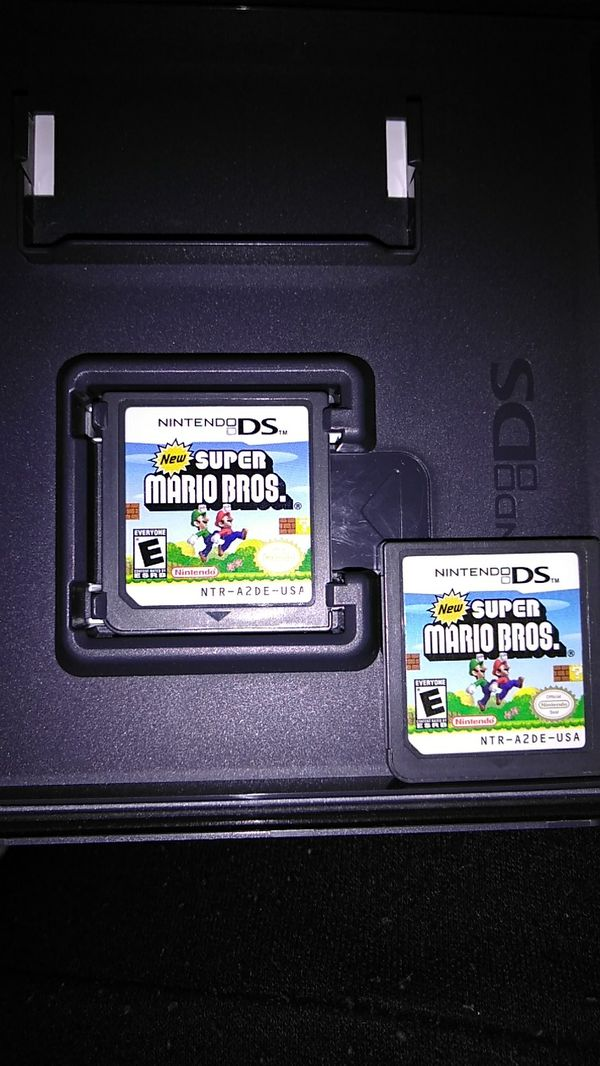 New super mario bros ds (2games)Need gone asap