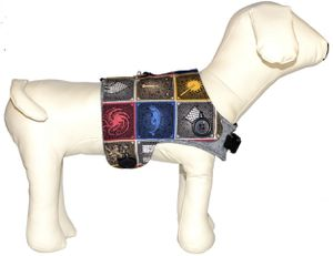 Game of Thrones Reversible Dog Vest & Harness - Medium for Sale in Broken Arrow, OK