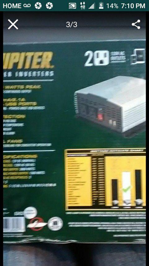 Juniper 1500 Power Inverter