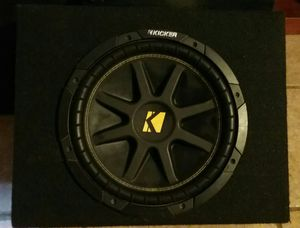 Kicker 10C124 Comp 12-Inc h Subwoofer 4 SVC for Sale in Los Angeles, CA