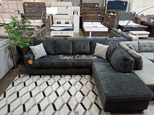 Modern Sectional Sofa, Slate, SKU# ASH87213TC for Sale in Santa Fe Springs, CA