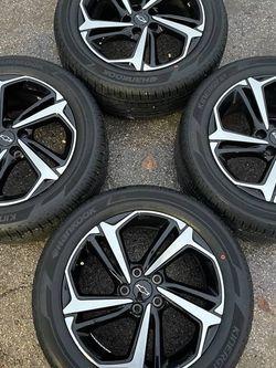 "New Chevy Black Blazer rims and Tires 5 lug 18"" 18 Chevrolet wheels Oe Rines y Llantas Oem factory's factory original Take offs off takeoffs pull pul for Sale in Dallas,  TX"