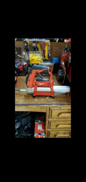 MILWAUKEE M12 GREASE GUN NEW TOOL ONLY NO BATTERY NO CHARGER for Sale in San Bernardino, CA