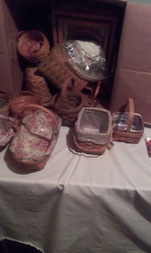 Longaberger baskets for Sale in Columbus, OH