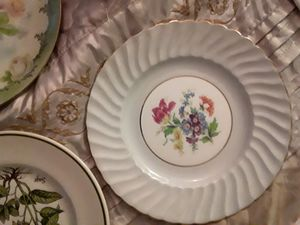 Antique Aynsley 6 piece bone china plate set $20 1856 Aynsley gold-plated teacup English $10 very rare antique cup for Sale in Gervais, OR