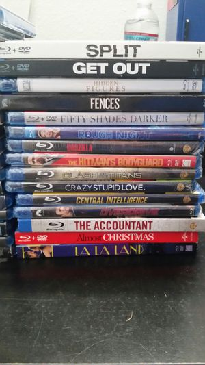 32 Blu-ray DVD movies for Sale in Everett, WA