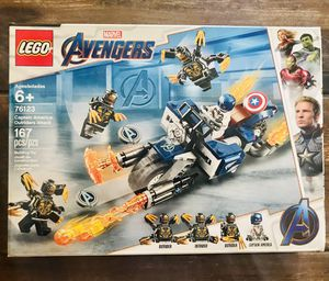 LEGO Marvel Avengers Captain America: Outriders Attack 76123 for Sale in FL, US