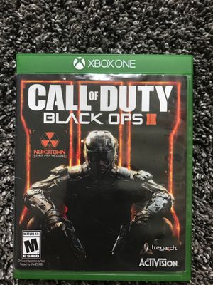 Xbox one Call of Duty Black ops 3 for Sale in Lincoln, NE
