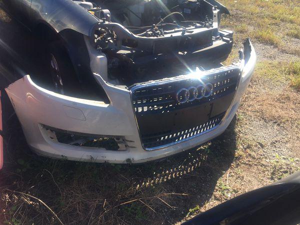 Audi Q7 2008 front bumper rear bumper