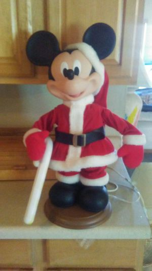 Mickey mouse electric movement toy is collectible iron working good condition cheap price for Sale in Kissimmee, FL