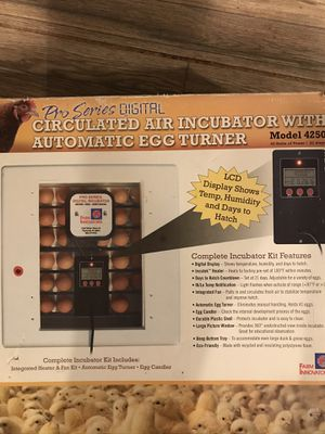 Baby chicken or quail incubator for Sale in Melbourne, FL