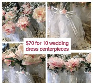 Wedding Dress Centerpiece for Sale in Newark, DE