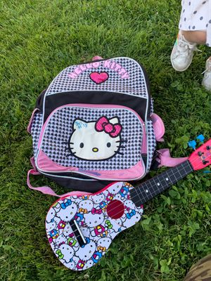 Backpack and guitar set for Sale in Detroit, MI