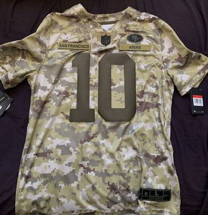 Nike Men's Jersey 49ers Salute to Service Limited Jersey Jimmy Garoppolo 10 for Sale in Antioch, CA