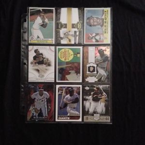 (9) Different WILLIE MCCOVEY Baseball Card Lot San Francisco Giants for Sale in Redmond, WA