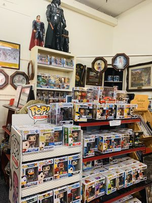 Pop collection, lot, toys, paintings, cutouts, sports card, jewelry, Bobblehead more for Sale in Phoenix, AZ