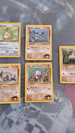 Brock collection Pokemon cards for Sale in Carlsbad, CA