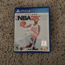 2k21 Ps4 for Sale in Vancouver,  WA
