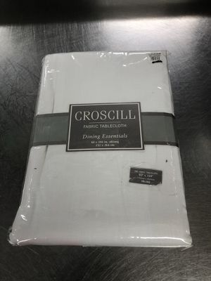 NEW CROSSCILL FABRIC TABLECLOTH 60in/104in for Sale in Jessup, MD