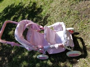 Doll double stroller, ready to roll:) for Sale in Apex, NC