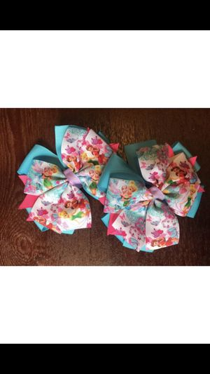 Tinkerbell hair bows for Sale in Newport News, VA