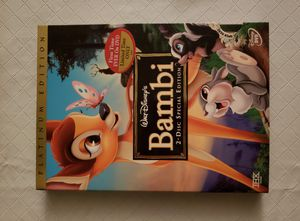 Bambi DVD 2 disc Special Platinum Edition for Sale in Toms River, NJ