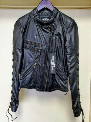 Women's Leather Motorcycle Jacket for Sale in Signal Hill, CA