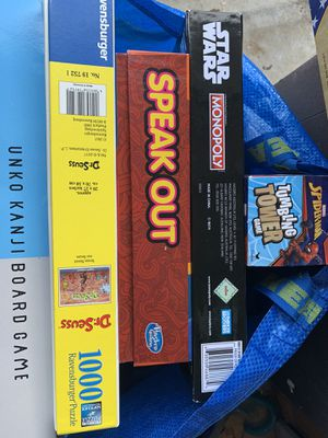 Games and puzzle for Sale in Escondido, CA