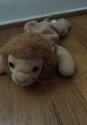 Roary the lion beanie babies ( RARE) for Sale in Columbus, OH